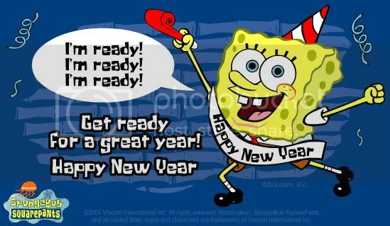 spongebob happy new year Pictures, Images and Photos